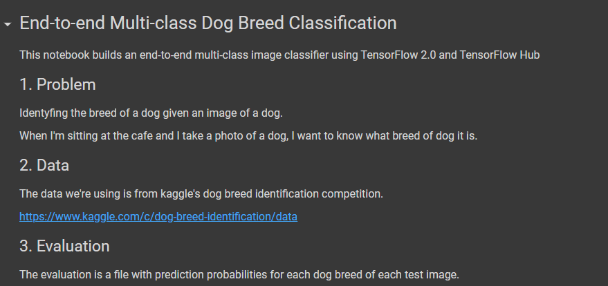 End to End Dog Breed Classifier using Deep Learning