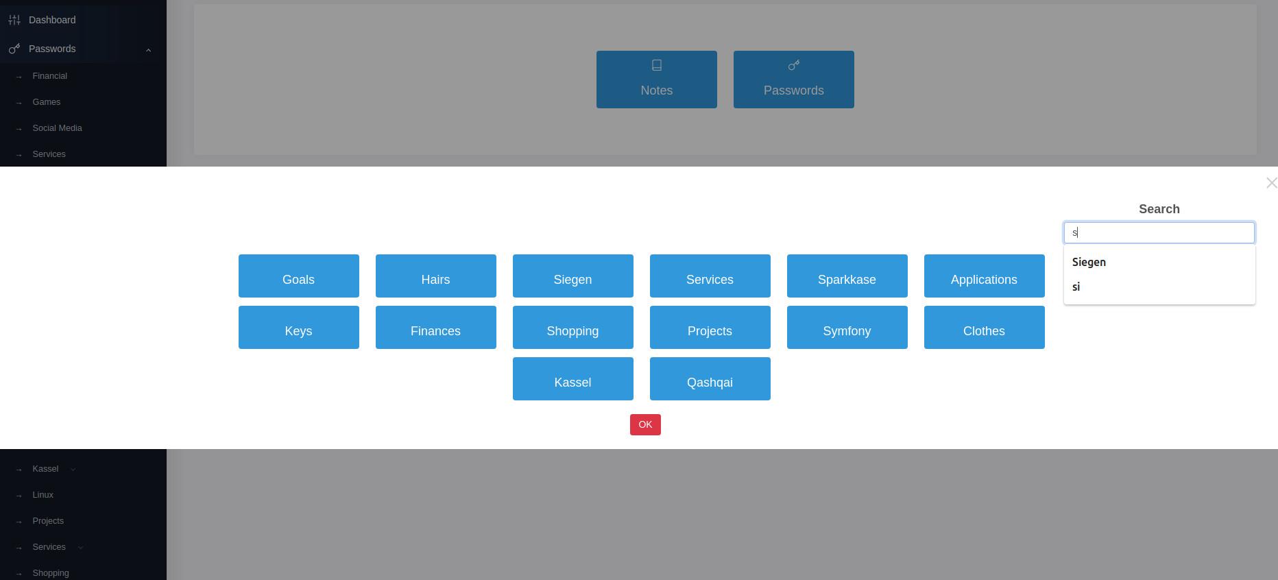 Personal Management System - I/O