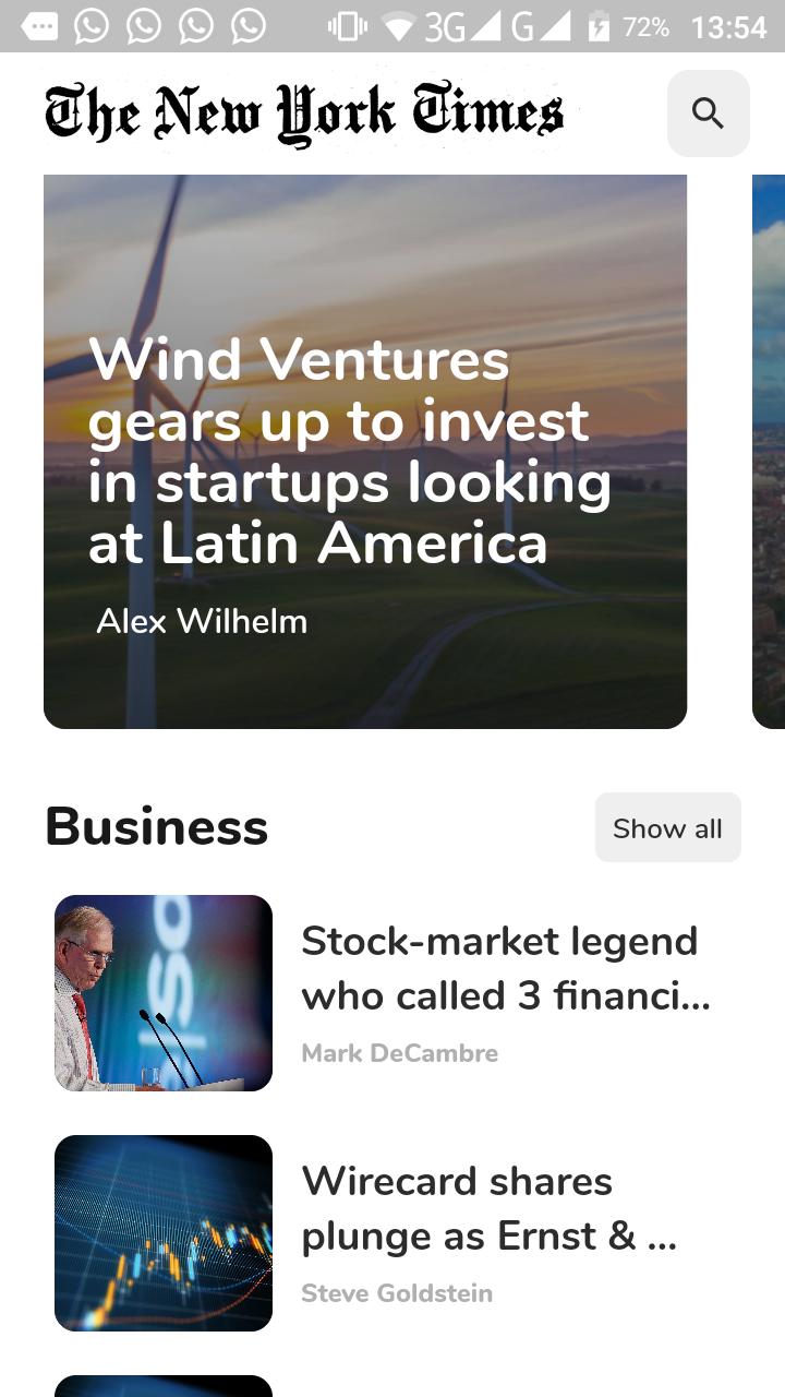 A news app