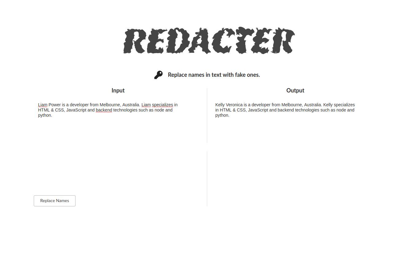 Redacter