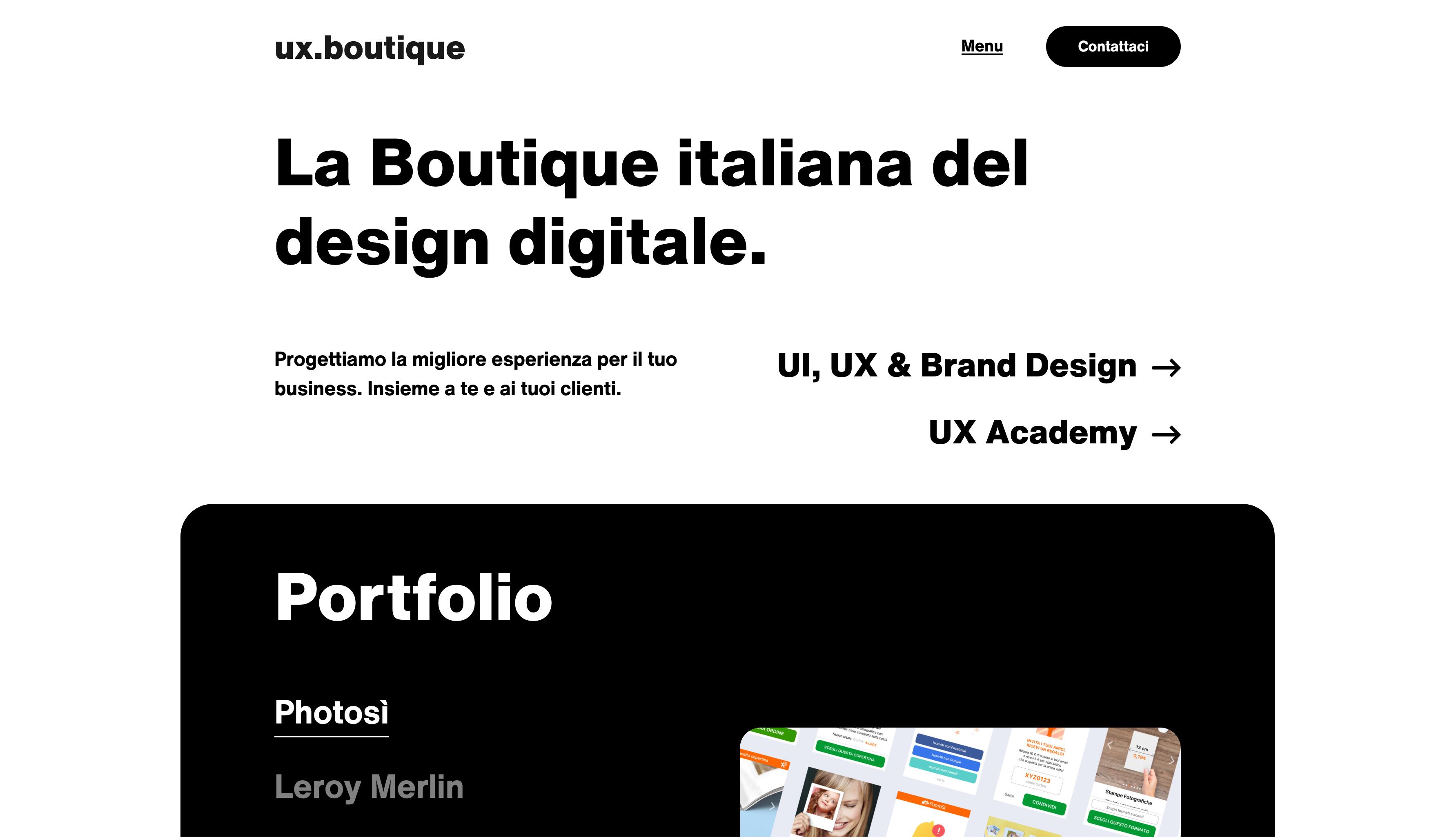 UX Design Site