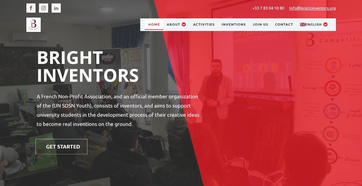 Bright Inventors Website